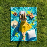 Cgear-patented Sand Multi Use Outdoor Camping Mat Mat Flamingo - 1