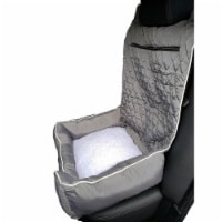 Seat Armour PETBED2G100G Car 2 Go Pet Bed, Gray - 1