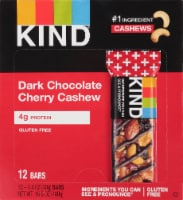 KIND Dark Chocolate Cherry Cashew Bars