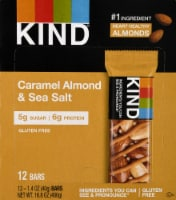 KIND Nuts & Spices Caramel Almond & Sea Salt Bars