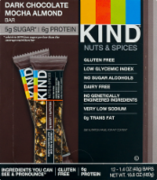 KIND Nuts & Spices Dark Chocolate Mocha Almond Bars