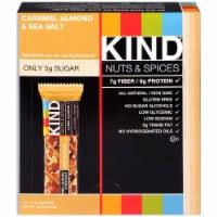 Kind Healthy Caramel Almond Sea Salt Snack Bar, 1.4 Ounce -- 72 per case. - 5