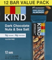 KIND Dark Chocolate Nuts & Sea Salt Snack Bars