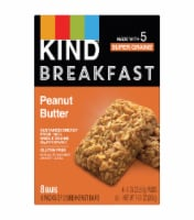 KIND Breakfast Peanut Butter Breakfast Bars 4 Count
