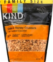 KIND Healthy Grains® Gluten Free Oats & Honey Clusters with Toasted Coconut Family Size - 17 oz