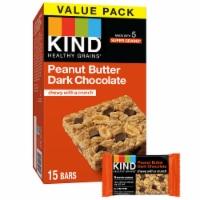 KIND Peanut Butter Dark Chocolate Granola Bars - 15 ct / 1.2 oz