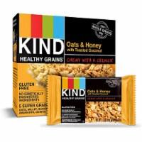 Kind - Bar Chewy Honey Oat - Case of 8 - 6/.81 OZ - 6/.81 OZ