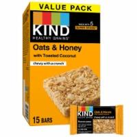 KIND Oats & Honey Bars Value Pack - 15 ct / 1.2 oz