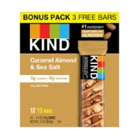 KIND Caramel Almond & Sea Salt Nutrition Bar - 15 ct / 1.4 oz