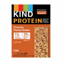 KIND Protein Crunchy Peanut Butter Bars 5 Count - 8.8 oz