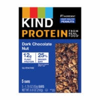 KIND Protein Dark Chocolate Nut Bars 5 Count - 8.8 oz