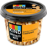 KIND Roasted Unsalted Cashews - 9 oz