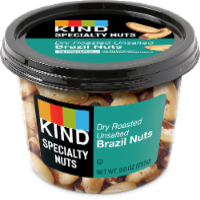 KIND Dry Roast No Salt Brazil Nuts - 9 oz