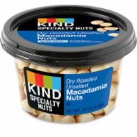KIND Dry Roasted Unsalted Macadamia Nuts - 7 oz