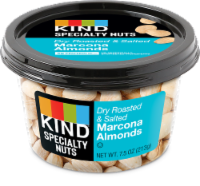 KIND Dry Roasted Salted Marcona Almonds - 7.5 oz