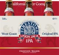 Firestone Walker Union Jack IPA Beer 6 Bottles