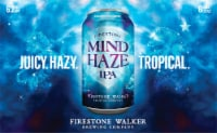 Firestone Walker Mind Haze IPA Beer 6 Cans
