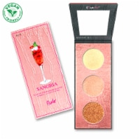 RUDE Cocktail Party Luminous Highlight / Eyeshadow Palette - Sangria - 1 unit