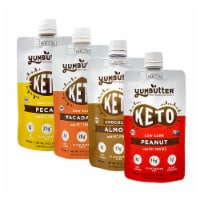 Yumbutter KETO Nut Butter with MCT - Variety Pack