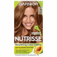 Garnier Nutrisse 63 Light Golden Brown Nourishing Color Creme Hair Color