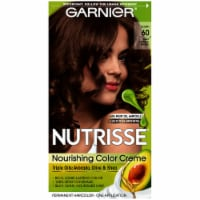 Garnier Nutrisse 60 Light Natural Brown Nourishing Color Creme Hair Color