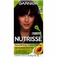 Garnier Nutrisse 40 Dark Brown Nourishing Color Creme Hair Color