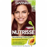 Garnier Nutrisse 452 Dark Reddish Brown Hair Color