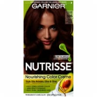 Garnier Nutrisse 535 Medium Golden Mahogany Brown Nourishing Color Creme Hair Color