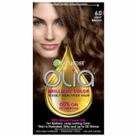 Garnier Olia Brilliant Color 6.0 Light Brown Permanent Hair Color