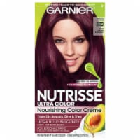 Garnier Nutrisse Ultra Color BR2 Dark Intense Burgundy Nourishing Color Creme Hair Color