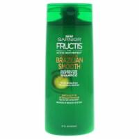 Fructis Sleek Shine Brazilian Smooth Shampoo by Garnier for Unisex - 22 oz Shampoo