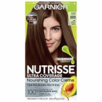 Garnier Nutrisse Ultra Coverage 500 Glazed Walnut Hair Color