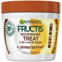 Garnier Fructis Nourishing Treat 1 Minute Hair Mask + Coconut Extract