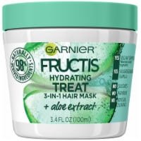 Garnier Fructis Hydrating Treat 1 Minute Aloe Extract Hair Mask