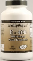 Healthy Origins E-400 Supplement