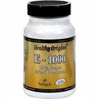 Healthy Origins E-1000 Supplement