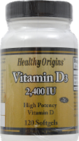 Healthy Origins Vitamin D3 Softgels Supplements
