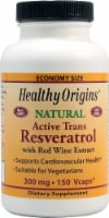 Healthy Origins  Natural Active Trans Resveratrol Supplement