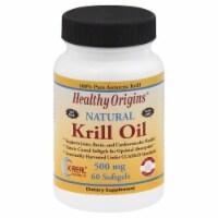 Healthy Origins Krill Oil 500 mg Softgels