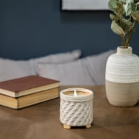 """4.5"""" Potted Candle By Liv & Skye - 1"""