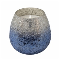 42Oz  Candle On Blue Ombre Glass By Liv & Skye - 1
