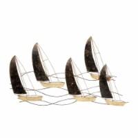Metal 35  Sailboats, Bronze Wb - 1