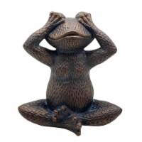 Resin, 16 H No See Frog, Metallic Blue - 1