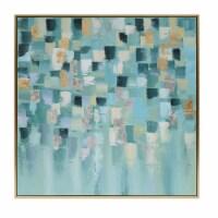 52X52, Geometric Oil Painting, Multi - 1