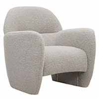 Club Accent Arm Chair, Ivory