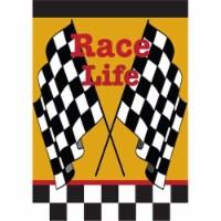 Jozie B 9 Race Life Flag, Large - 1