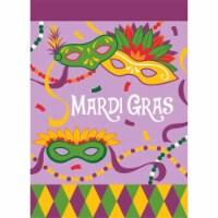 Dicksons 01215 Mardi Gras Garden Flag - Small
