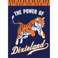 Dicksons 01307 The Power of Dixieland Tiger Garden Outdoor Flag