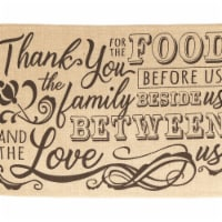 Ralphs Dicksons Plmt 5 18 X 12 In Juco Cotton Placemat Thank You For Set Of 2 1