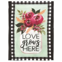 Dicksons M070084 30 x 44 in. Flag Print Love Grows Here Polyester - Large